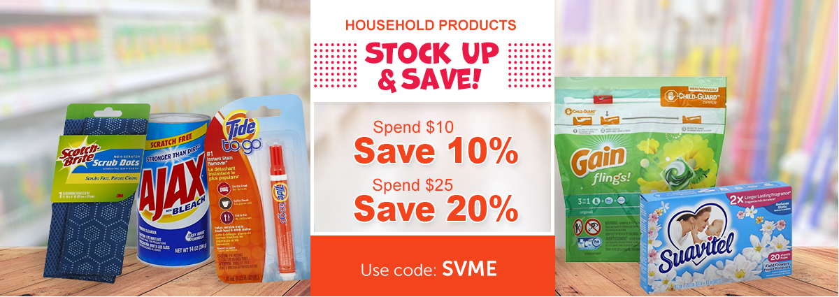 Buy More Save More on Select Products